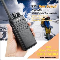 Picture of TYT MD-680 DMR IP67 Waterproof UHF 400-480mhz Digital Mobile Radio