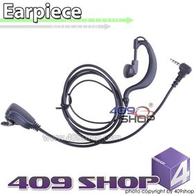 Picture of 2-wire PTT D-ring Ear Loop Earpiece (Y plug) for VX-300 VX-410 VX-420