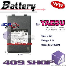 Picture of 2400mAh Li-ion Battery for YAESU FT-60R VX-160 VX150