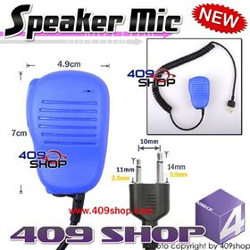 Picture of hotsale Speaker Microphone (Blue) for IC-F10 IC-H2 IC- H6