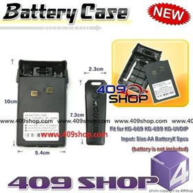 Picture of WOUXUN AA battery case for KGUV6D KG-669 KG-689 KG-679