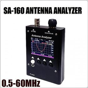 Picture of SURECOM SA-160 0.5-60MHz Colour Graphic ANTENNA ANALYZER