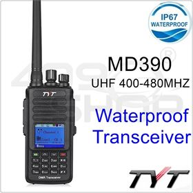 TYT MD-390u 400-480MHz IP67 Waterproof DMR Digital Transceiver Free Earpiece