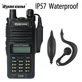 SURECOM UV5RWP IP57 waterproof DUALBAND RADIO