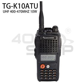 QUANSHENG TG-K10AT 8-9W UHF 400-470MHz High quality walkie talkies