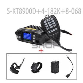 SURECOM KT-8900DMINI MOBILE RADIO + Bluetooth Wireless Earpiece