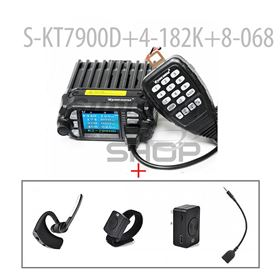 SURECOM KT-7900DMINI MOBILE RADIO + Bluetooth Wireless Earpiece