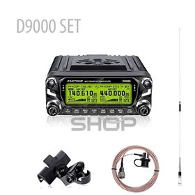 Zastone D9000 Car Walkie Talkie + ANTENNA + MOBILE BRACKET + extend cable