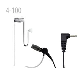 Acoustic Tube earpiece with 3.5mm plug