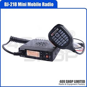 Baojie BJ-218 136-174/400-470MHz Mini Mobile Radio Transceive