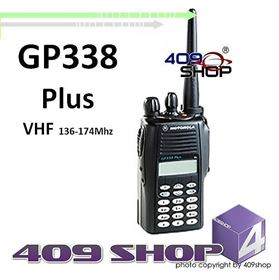 GP338-PLUS-V Motorola GP338 Plus VHF 136-174Mhz Portable Transceiver