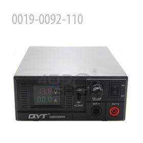 0019-0092-110  QYT Power Supply 110V Adjustable Switching Color Screen for Mobile Radio Base Station  DWC30WIN