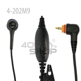 One Wire Earpiece With PTT for Motorola