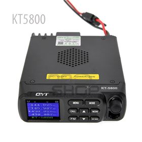 QYT KT-5800 Dual Band UHF/VHF MOBILE RADIO